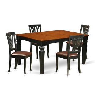 Arison 5 Piece Dining Set DarHome Co