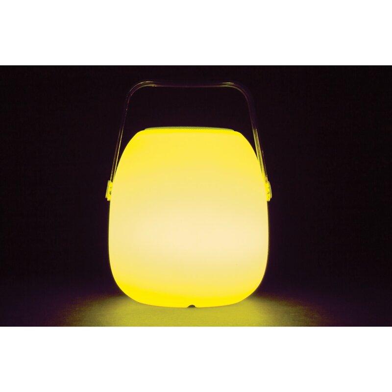 Opal Bluetooth Speaker Lantern 1 Light LED Pathway Light