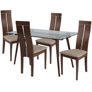 Bryony 5 Piece Dining Set by Ebern Designs