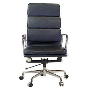 Brayden Studio Benally Leather Desk Chair