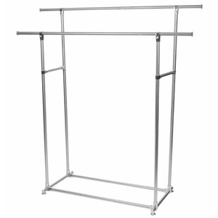 Double Clothing 50cm Wide Clothes Rack By Symple Stuff