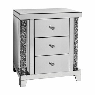 EmeraldCove 3 Drawer Nightstand by Rosdorf Park