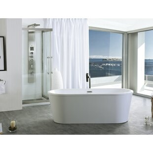 Look for 59 x 29.5 Freestanding Soaking Bathtub ByLegion Furniture