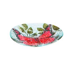 Evergreen Flag & Garden Butterfly Birdbath