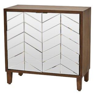 Nyora Wood 2 Door Accent Cabinet