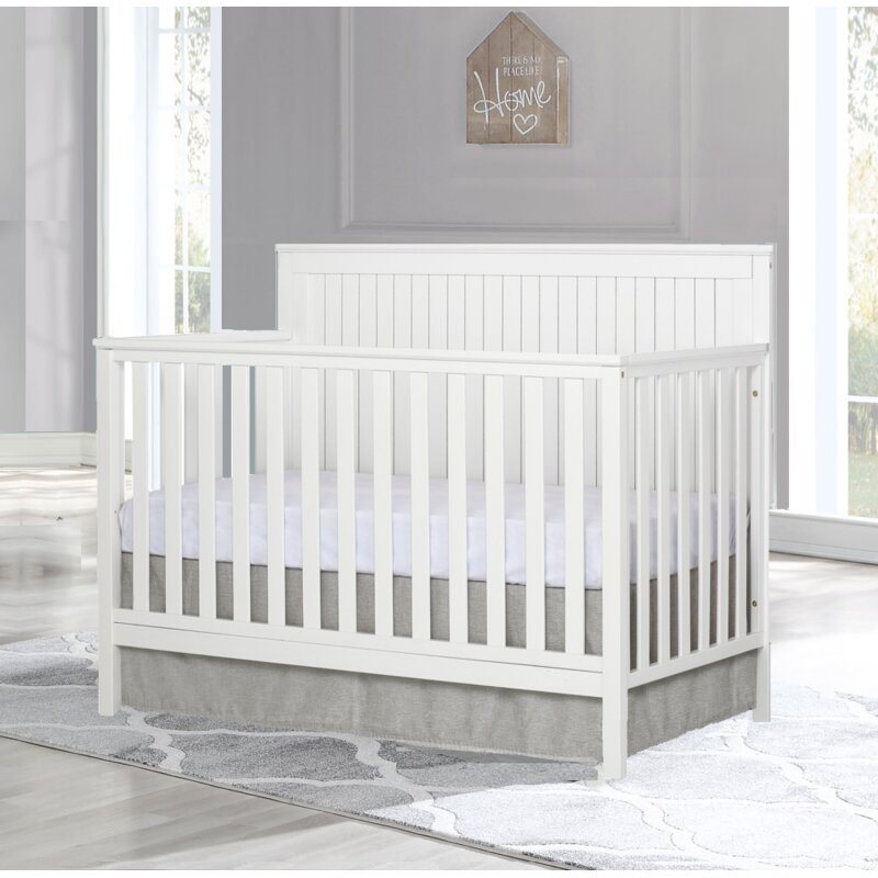 Harriet Bee Carper 4-in-1 Convertible Crib
