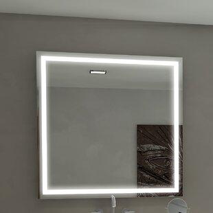 Harmony Illuminated Bathroom / Vanity Mirror By Paris Mirror