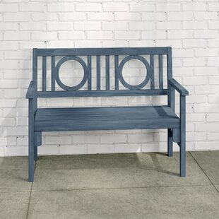 Maxille Wooden Bench By Sol 72 Outdoor