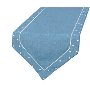 Breen Embroidered Easy Care Table Runner