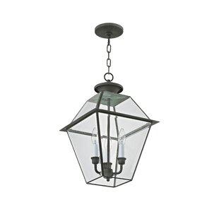 Tackett 3-Light Outdoor Hanging Lantern