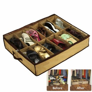 Shoes Under Space Saving Solution  sc 1 st  Wayfair & Under The Bed Shoe Storage Youu0027ll Love | Wayfair