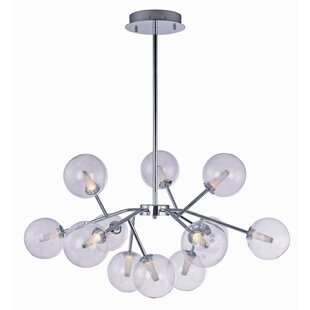 Corrigan Studio Ledo 12-Light LED Sputnik Chandelier