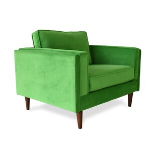 Cleaver Mid-Century Modern Armchair by Everly Quinn