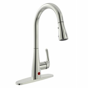 Save. Keeney Manufacturing Company. Essential Style Pull Down Touchless  Single Handle Kitchen Faucet