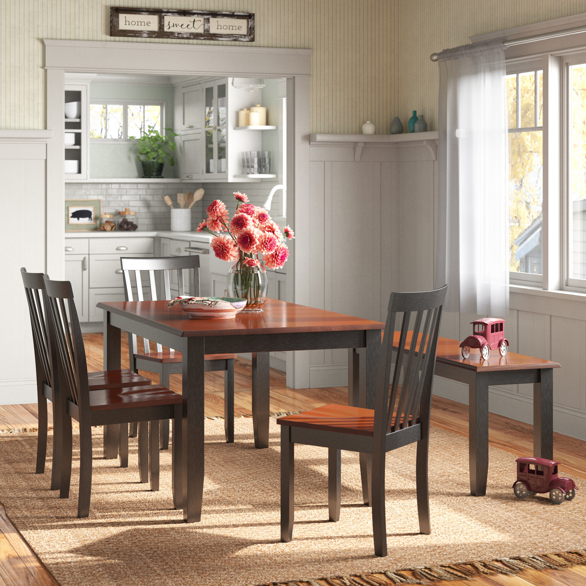 Bench Kitchen Dining Room Sets You Ll Love In 2021 Wayfair