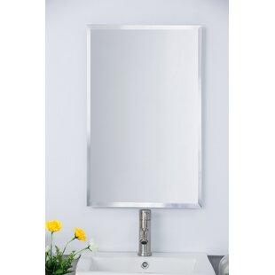 16.75 x 26.75 Recessed Framed Medicine Cabinet with 3 Adjustable Shelves By Bellaterra Home