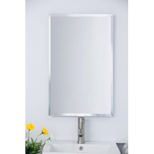 Price comparison 16.75 x 26.75 Recessed Medicine Cabinet By Bellaterra Home