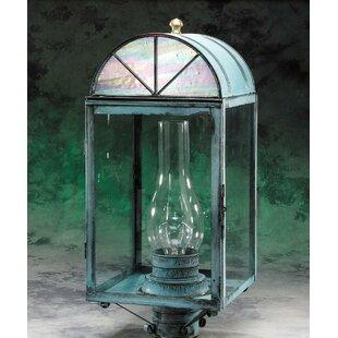Elica 1-Light Post Lantern Hea..