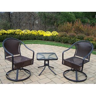 Tuscany Swivel Patio Dining Chair (Set of 2)