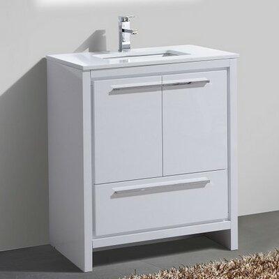 Bosley 30 Modern Bathroom Vanity
