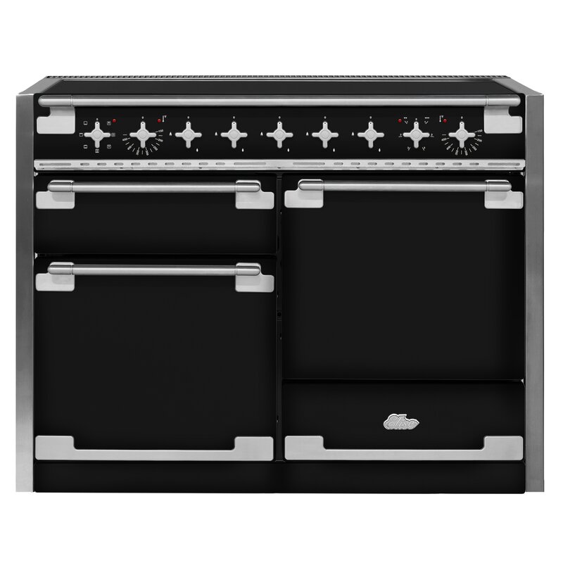 "AGA 48"" Elise Free-Standing Electric Range  Finish: Gloss Black"