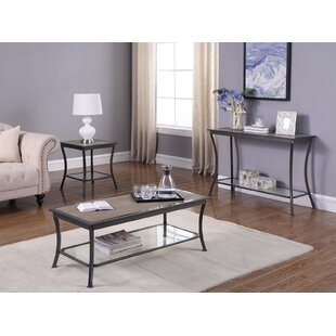 Fleur De Lis Living Cockrell Hill 3 Piece Coffee Table Set