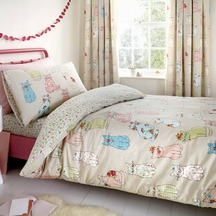 Monique 130 TC Duvet Cover Set By Harriet Bee