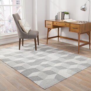 Samara Gray/White Indoor/Outdoor Area Rug