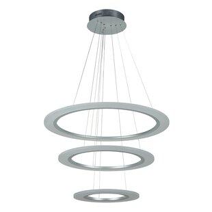 Orren Ellis Nielsen 3-Light LED Pendant