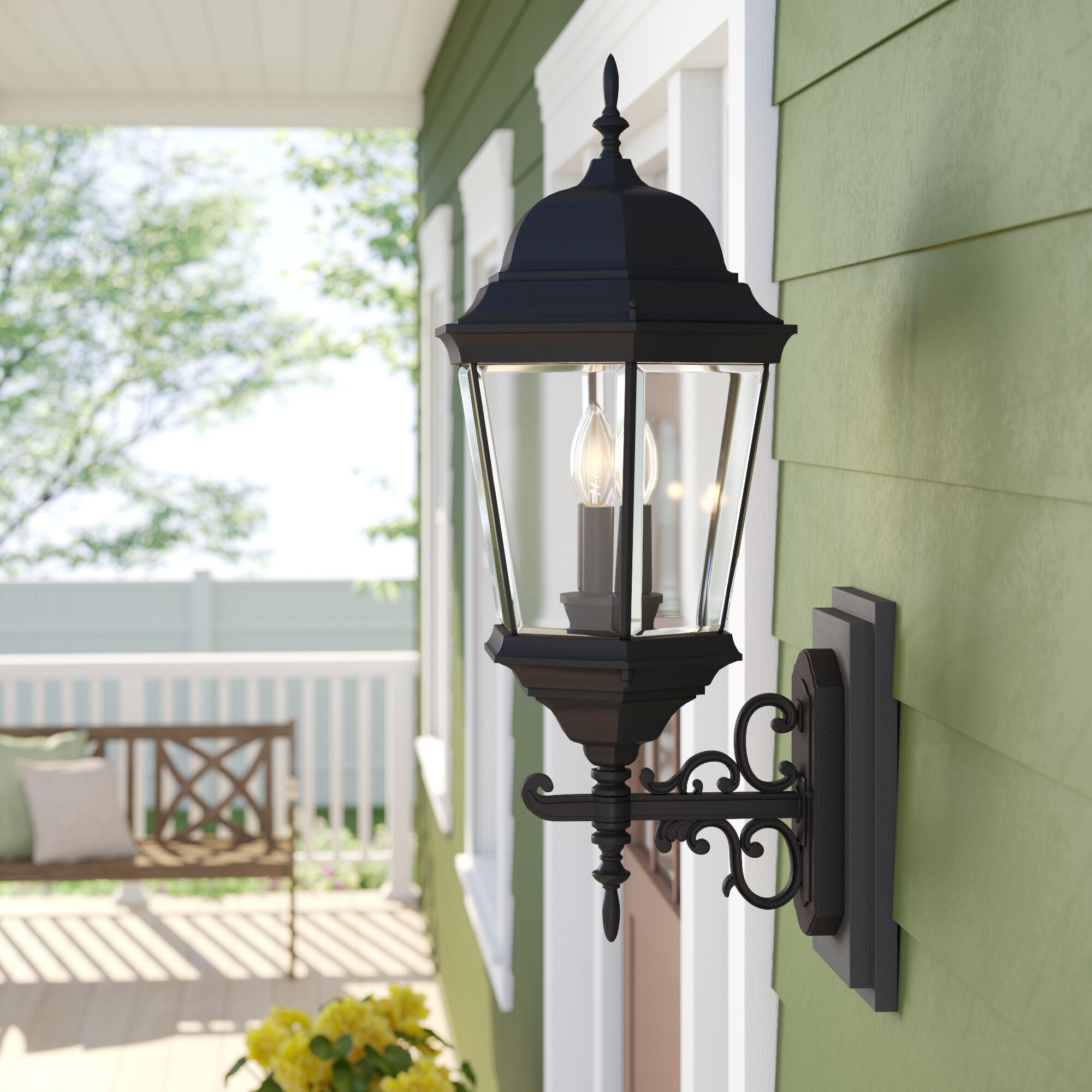 Claremont 3 Light Outdoor Sconce