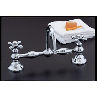 Strom Plumbing by Sign of the Crab Columbia Bathroom Sink Faucet with Drain Assembly