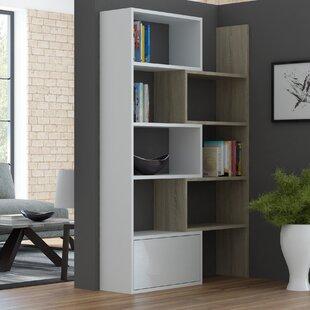 Mattie Geometric Bookcase by B..