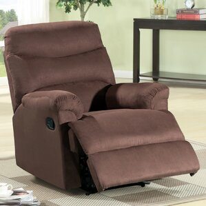 Jonathan Contemporary Microfiber Manual Lift Assist Recliner with Ottoman & Small Recliners Youu0027ll Love | Wayfair islam-shia.org