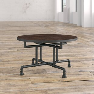 Compare prices Dudek Industrial Coffee Table By Williston Forge