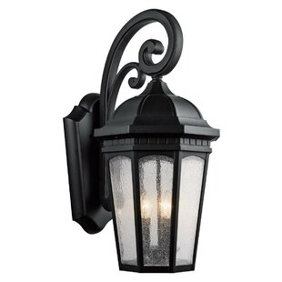 Inexpensive Flinders 3-Light Outdoor Wall Lantern By Darby Home Co
