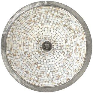 Linkasink Mosaic Metal Circular Undermoun..