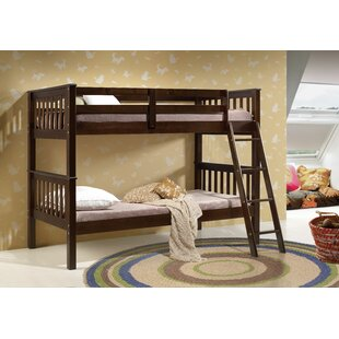 Chriopher Twin Bunk Bed by Harriet Bee