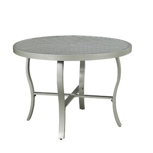 Dinan Metal Dining Table by Red Barrel St..