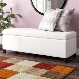 Compare Eagarville Fabric Storage Bench By Ebern Designs