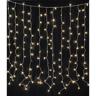 Top Reviews Hillis Curtain 6 ft. Fairy String Lights By Mercury Row
