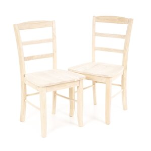 Brianne Solid Wood Dining Chair (Set Of 2)