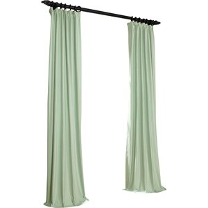 Avella Indoor/Outdoor Cotton/Linen Single Curtain Panel