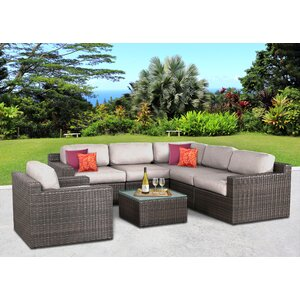 Sabin 7 Piece Deep Seating Group with Cushions