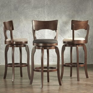 Wescott Bar & Counter Swivel Stool by Three Posts
