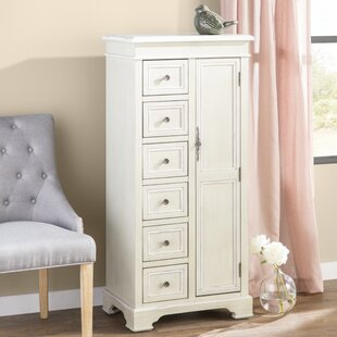 Stein World Painted Treasures 1 Door 6 Drawer Cadet Accent Cabinet