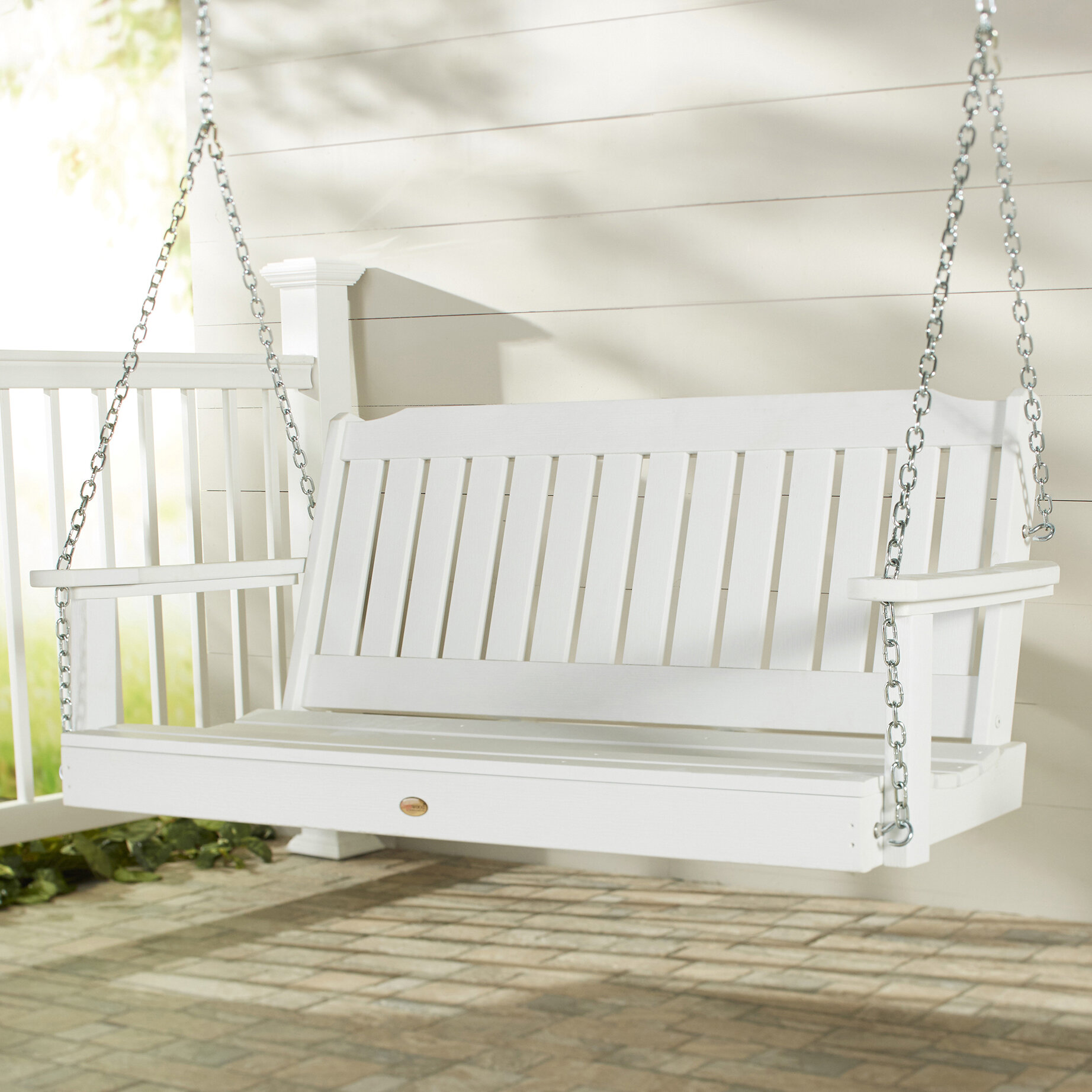 ft com white recycled polywood reg nautical walmart plastic swing porch ip