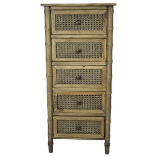 Eugenia 5 Drawer Accent Chest by Bay Isle Home