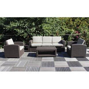 Ameson 5 Seater Rattan Sofa Set Image