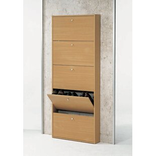Budget Escape 15 Pair Shoe Storage Cabinet By Jay-Cee Functional Furniture