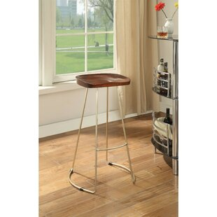 Amherst Wood and Metal 30 Bar Stool (Set of 2) by Brayden Studio